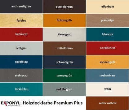 Exponyl Holzdeckfarbe Premium Plus